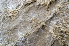 Muddy water Royalty Free Stock Images