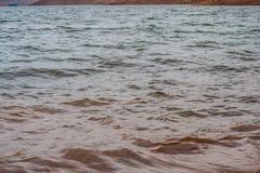 Muddy Water Waves de Panshet imagen de archivo libre de regalías