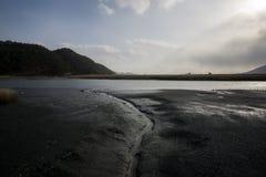 Muddy wetlands Stock Photo