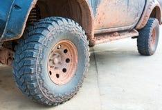 Muddy wheel Royalty Free Stock Photo