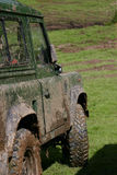 Muddy 4x4 Stock Images