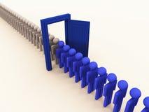 Mude a gestão de processo Foto de Stock