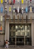 Mude Museum of Fashion and design in Lisbon Stock Images