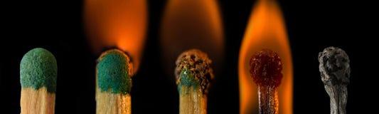 Mude pelo fogo Imagem de Stock Royalty Free