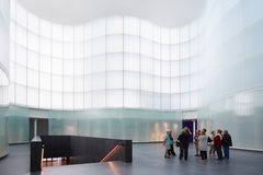 Mudec, architecture contemporaine de culture de delle de Museo à Milan Image libre de droits