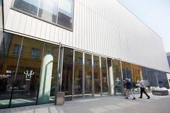 Mudec, culture de delle de Museo, musée ethnographique à Milan Photos stock