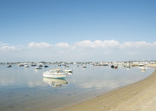 Mudeford sandbank, dorest Stock Image