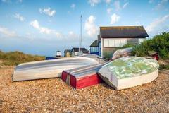 Mudeford Spit in Dorset Royalty Free Stock Image