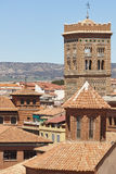 Mudejar πύργος ύφους, SAN Martin Teruel Ισπανική κληρονομιά E στοκ εικόνα
