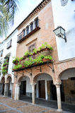 Mudejar σπίτι στο Plaza Grande Zafra, Badajoz, Ισπανία Στοκ φωτογραφία με δικαίωμα ελεύθερης χρήσης