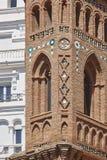 Mudejar art. Spanish architecture landmark heritage. Tower. Teru. El, Aragon Royalty Free Stock Photography