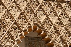 Mudejar decorations in Seville Stock Photography