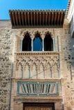 Mudejar palace Stock Photo
