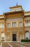 Mudejar Palast im Alcazar von Sevilla, Spanien Lizenzfreie Stockbilder