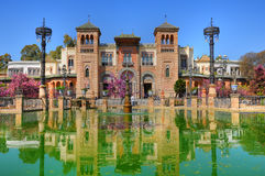 Mudejar pavilion, Seville Royalty Free Stock Photography