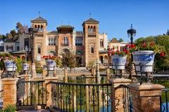 Mudejar Pavilion in Seville Stock Photography