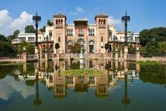 Mudejar Pavilion in Seville Spain stock image