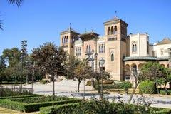 Mudejar Pavilion, Seville, Spain Stock Photography