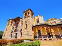The Mudejar Pavilion in Seville, Spain Royalty Free Stock Photography