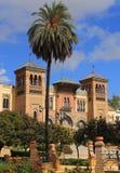 Mudejar pawilon, Maria Luisa park andalusia Seville Spain Zdjęcia Stock