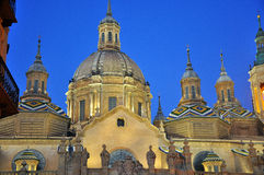 Mudejar in saragossa Royalty Free Stock Image