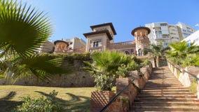 MUDEJAR STYLOWY pałac los Navajas Hiszpania Obrazy Stock