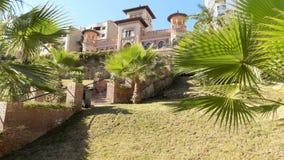 MUDEJAR STYLOWY pałac los Navajas Hiszpania Zdjęcie Stock