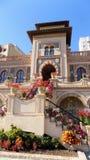MUDEJAR STYLOWY pałac los Navajas Hiszpania Zdjęcia Stock