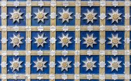 Mudejar tilework royalty-vrije stock afbeeldingen