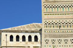 Mudejar wall Stock Image
