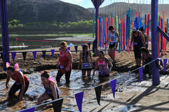2014 Muderrella Mud Race Car Wash Mud Pit Royalty Free Stock Photo