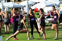 2014 Muderrella Mud Race Contestants Royalty Free Stock Photo
