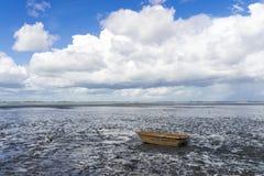 mudflat Στοκ εικόνα με δικαίωμα ελεύθερης χρήσης