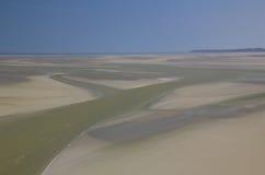 Mudflat at low tide stock fotografie