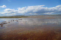 Mudflats Royalty Free Stock Photos