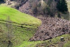 Mudflow Stock Image