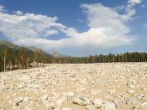 Mudflow Stock Photo