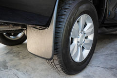 Mudguard for automobile. / part of car Stock Photography