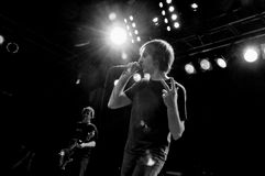 Mudhoney. Performs at Neumos in Seattle on February 8th Royalty Free Stock Images