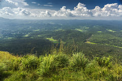 Mudhumalai forest from top of the Needle rock view point in Nilgiris Royalty Free Stock Image