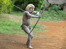 Mudman Papua Royalty Free Stock Photos