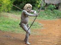 Mudman Papua royalty free stock photos