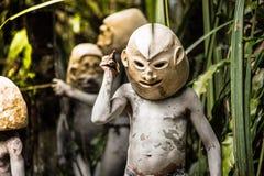 Mudmen de la Papouasie-Nouvelle-Guinée Image libre de droits