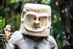 Mudmen of Papua New Guinea. Famous mudmen of Papua New Guinea stock image