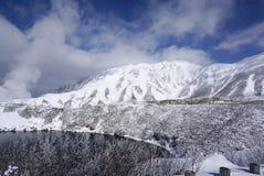 Mudoro领域的Mikurigaike湖 库存图片