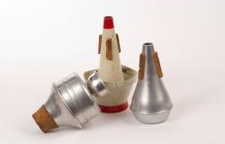 Mudos de la trompeta Imagenes de archivo