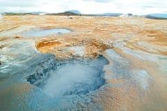 Hverir in iceland Stock Image