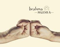 Mudra Brahma стоковая фотография