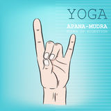 Mudra Royalty Free Stock Photo