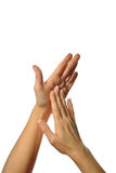 Mudra hands poses Stock Photography